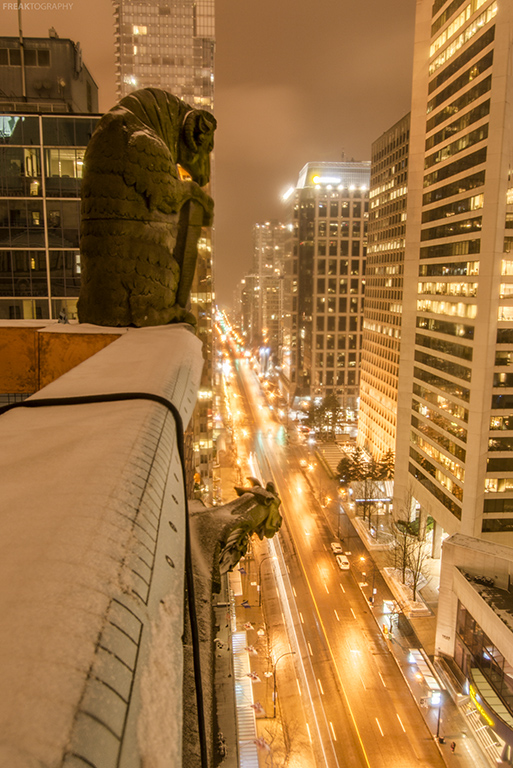 Vancouver Rooftopping Photography