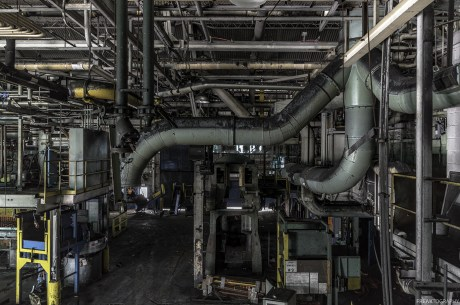 Industrial Photography of St Catharines GM Plant
