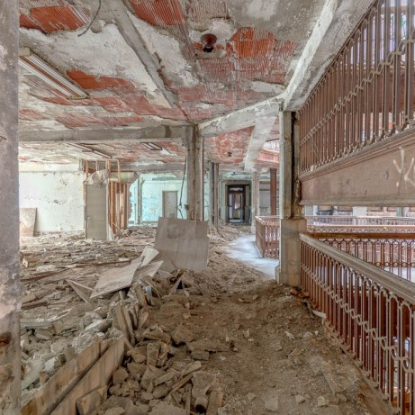 Abandoned Detroit Office building