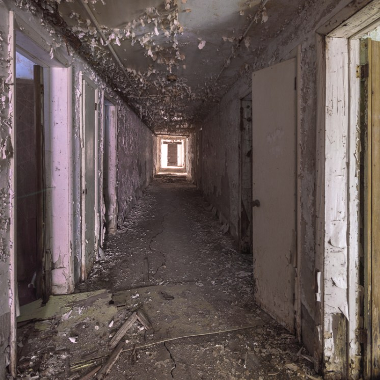 Freaktography, abandoned, abandoned photography, abandoned places, creepy, decay, derelict, doors, hallway, hallways, haunted, haunted places, peeling paint, photography, urban exploration, urban exploration photography, urban explorer, urban exploring, vanishing point