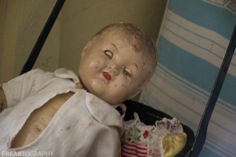 Creepy Dolls Abandoned Time Capsule House Urban exploring