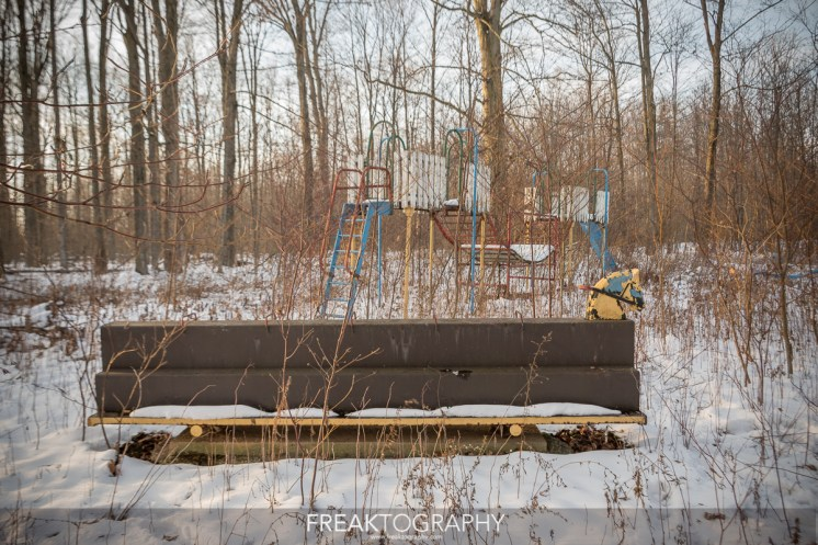 Abandoned Childrens Hospital Buddhist Temple and Forgotten Playground