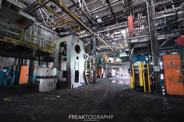 abandoned st catherines GM Plant