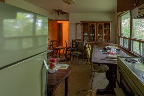 Abandoned 1970s House