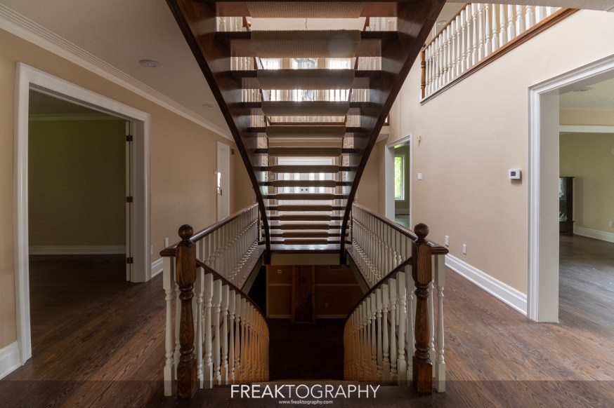 Super Sexy Staircase Abandoned Mansion