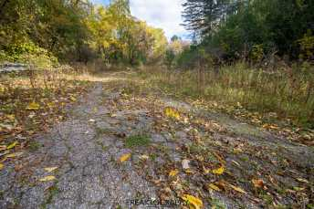 Abandoned Road to Nowhere Fall Photography