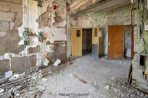 Abandoned St Josephs Hospital Parry Sound Urban Exploring Photography