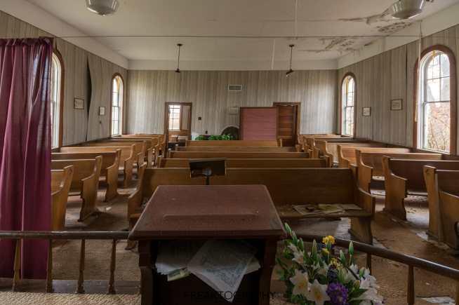 Abandoned Church in Rural Ontario