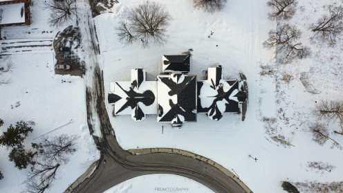 Century Manor Drone Photography.