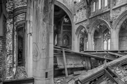 Abandoned City Methodist Church Gary Indiana