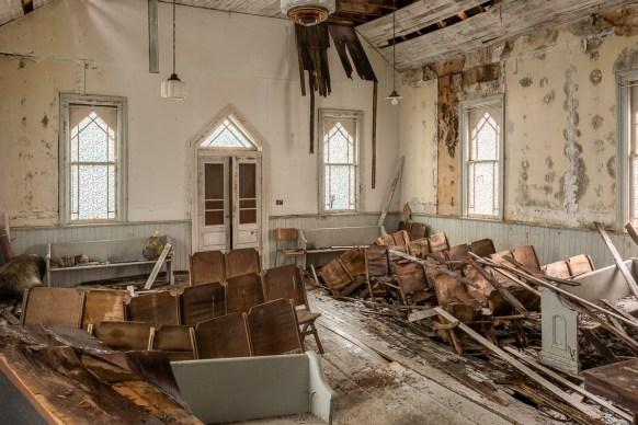 Abandoned Indigenous Church 2020