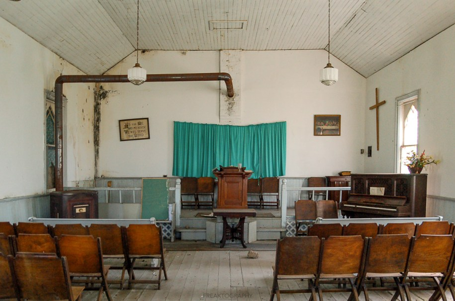 Abandoned Ontario Indigenous Church and Burial Ground