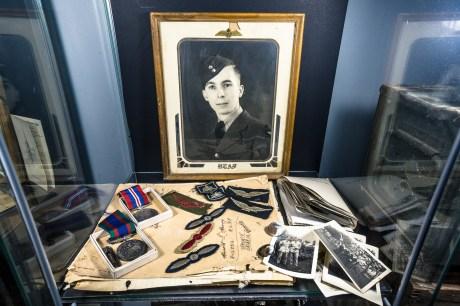 forgotten war medals abandoned house