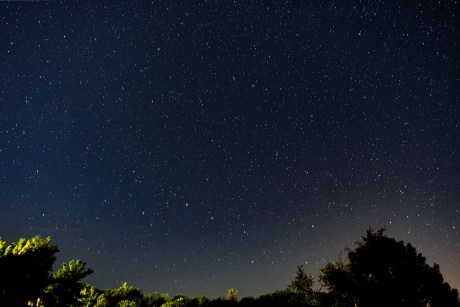 starry sky astrophotography 2020