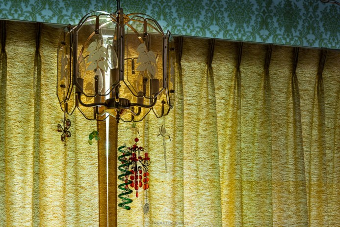 abandoned christmas time capsule house