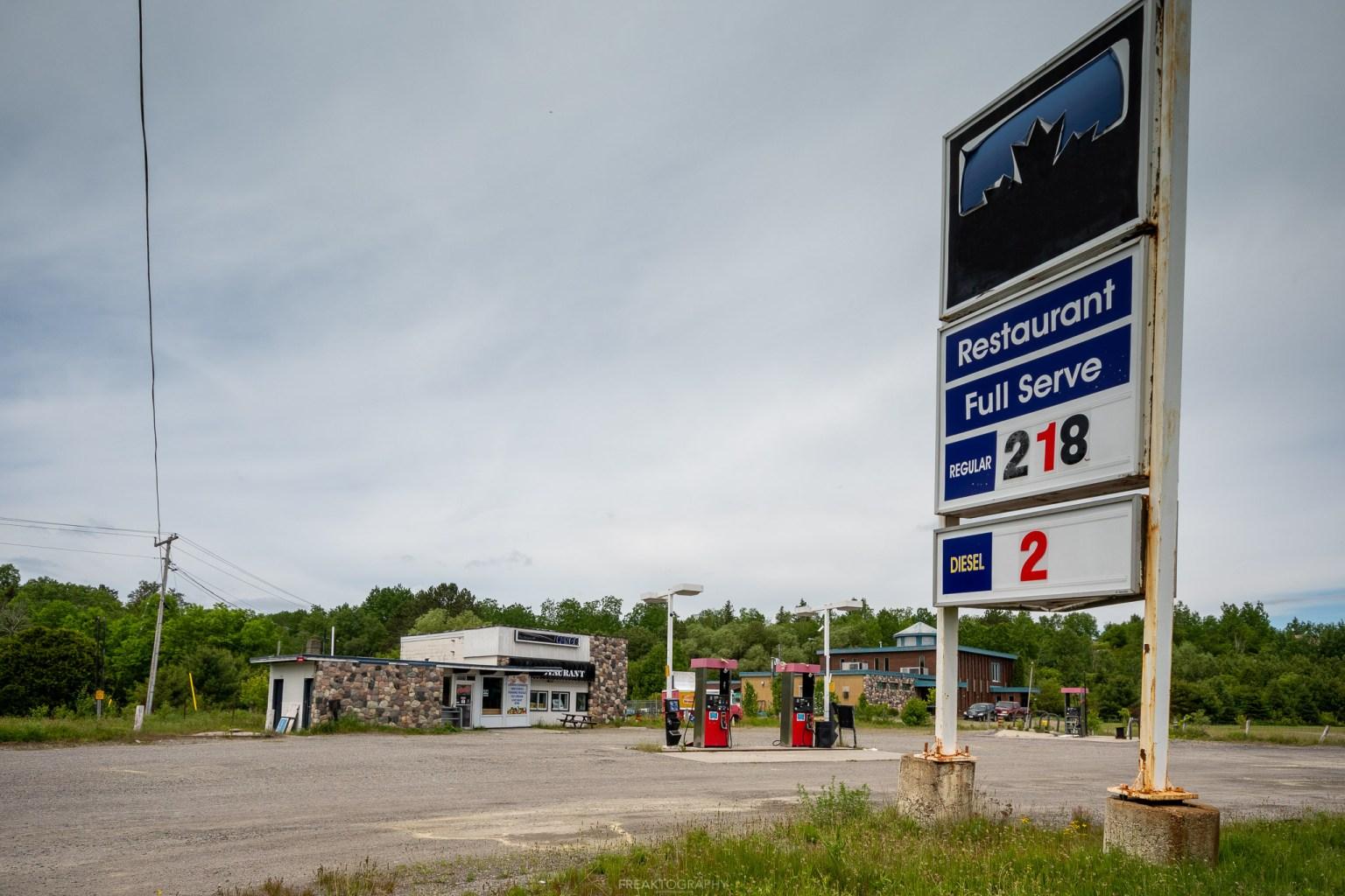 abandoned zombie apocalypse gas station