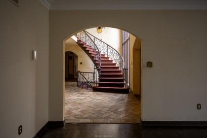 toronto abandoned santa fe style mansion