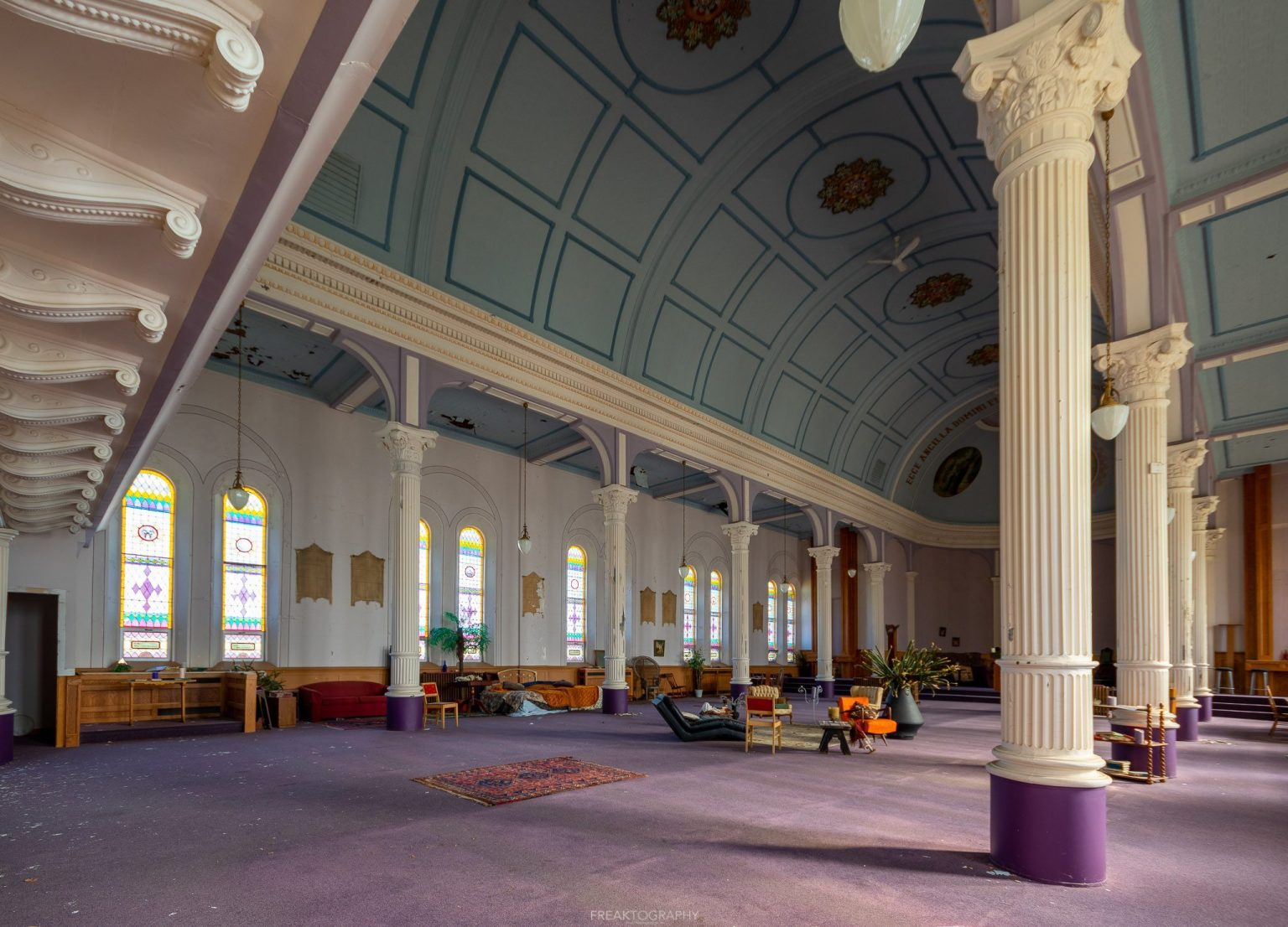 Abandoned Roman Catholic Cathedral Built in 1905