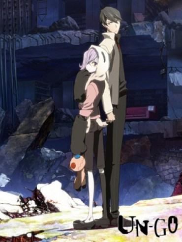 Un-Go anime review Box art
