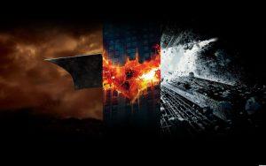 The Batman trilogy by Christopher Nolan