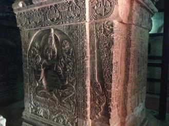 Ancient releifs at Manuha Tenple