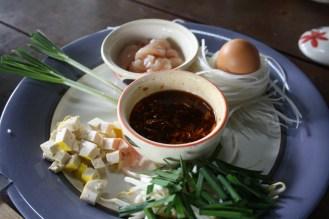 Ingredients for Pad Thai