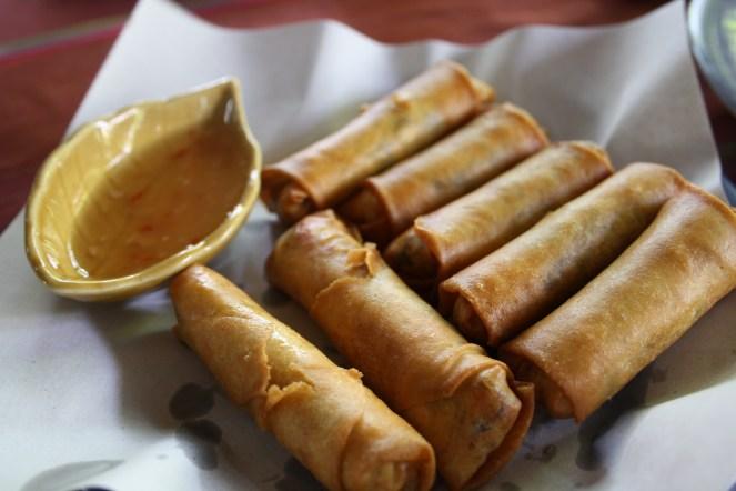 My Por Piah (Spring rolls)