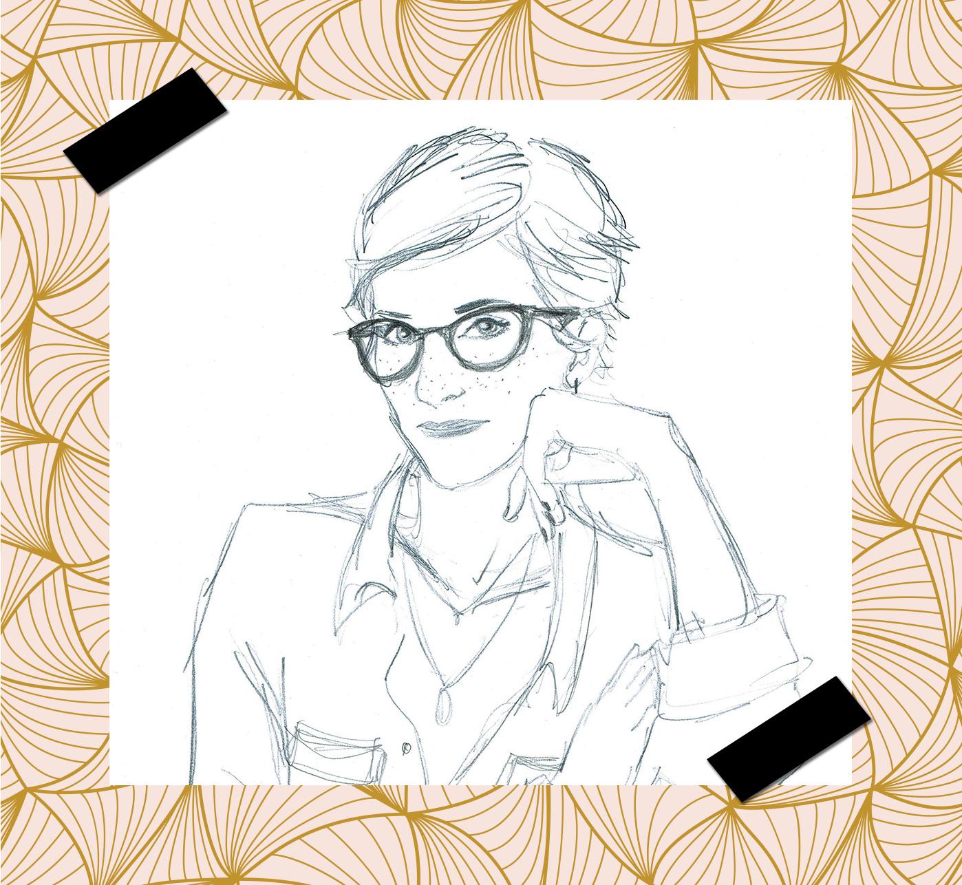 Illustration Anne Sophie Perre, Freckles Design Lyon