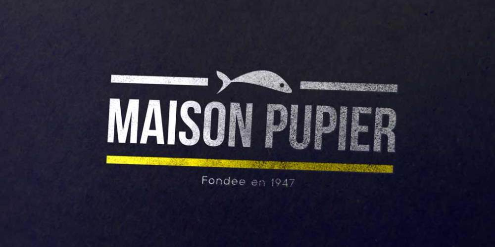 Creation logo Maison Pulpier Lyon