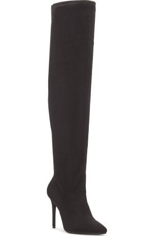 Jessica S OTK boots,