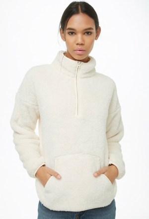 Cream pullover