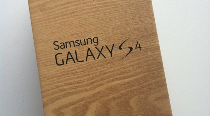 Découverte du Samsung Galaxy S4