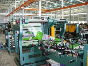 CIMG7806 BOPP with PP Woven Bag Machines
