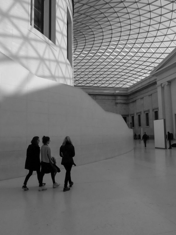 The Great court of British Museum