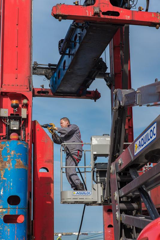 Reportage photo Eurotunnel photos de chantier