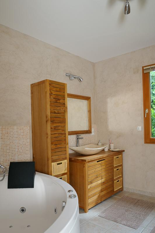 photo salle d'eau et bain