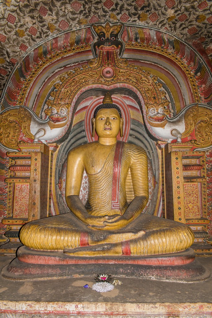 Photo tourisme Sri Lanka Dambulla Golden Temple