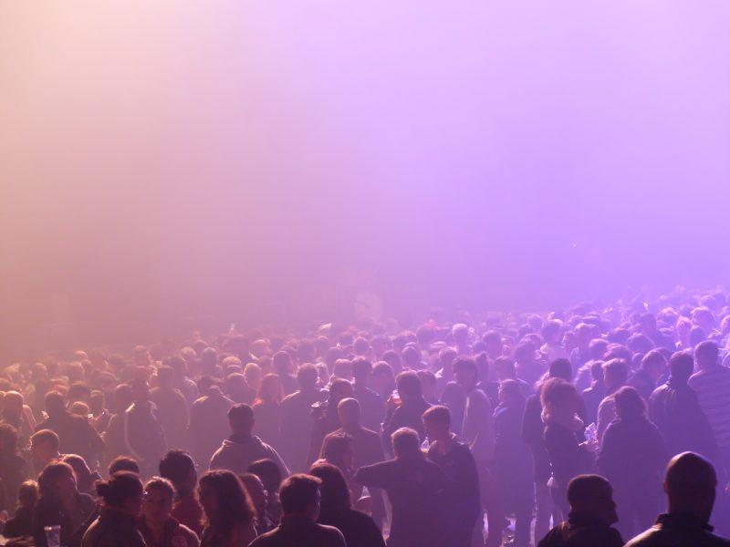 photo dans la fosse salle de concert et spectable Bordeaux
