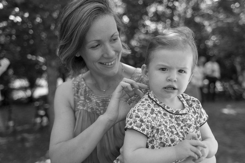 photo jeune maman et bébé