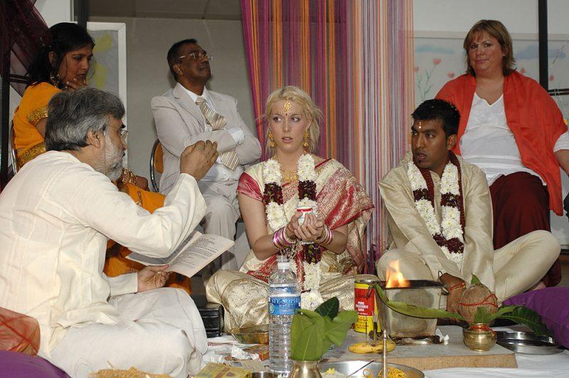 photo de mariage hindou