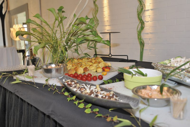 photo du banquet réception mariage