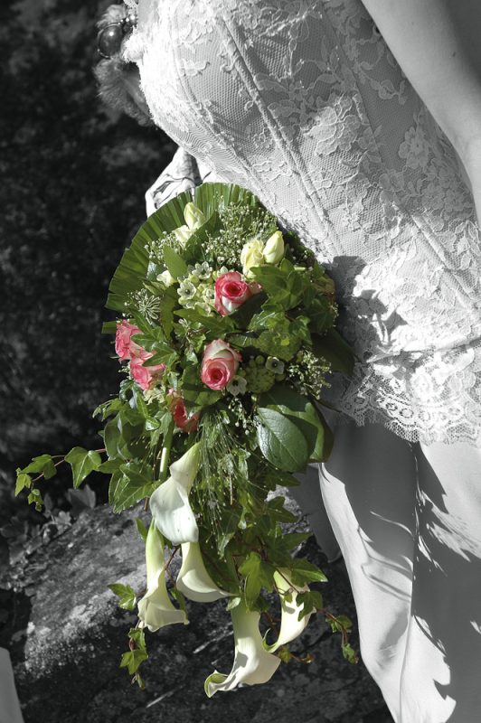 photo du bouquet de mariée à Cestas pessac