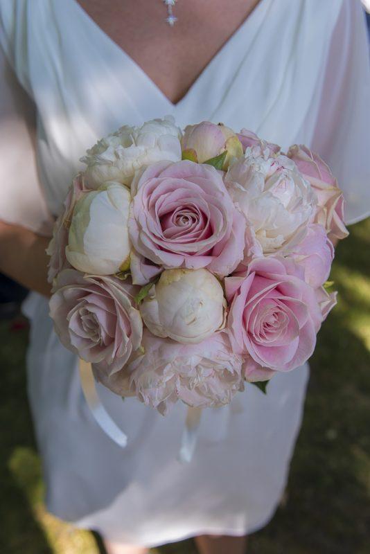 photo du bouquet de fleurs de la mariée