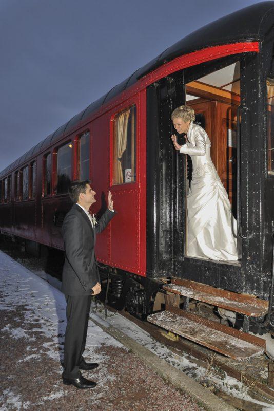 Mariage dans un train Gironde