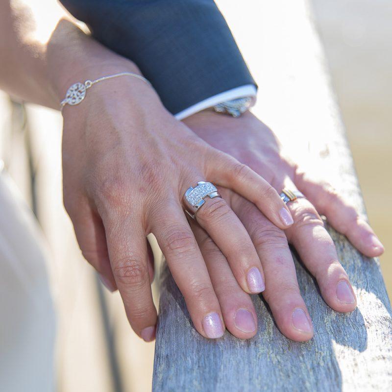 Photo des alliances reportage mariage
