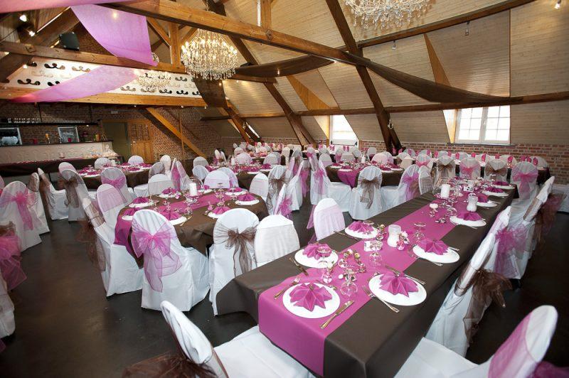 photos de mariage salle de réception