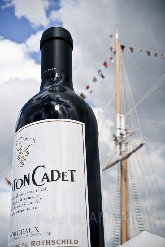 Fête du vin Bordeaux reportage photo de stand