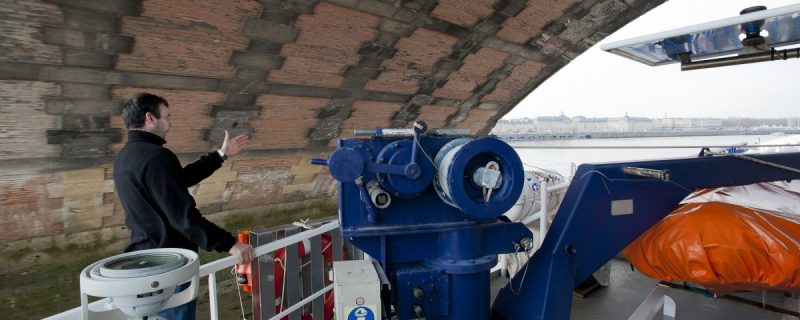 Le long de la Garonne entre Toulouse et Bordeaux, reportages photo pour l'industrie maritime