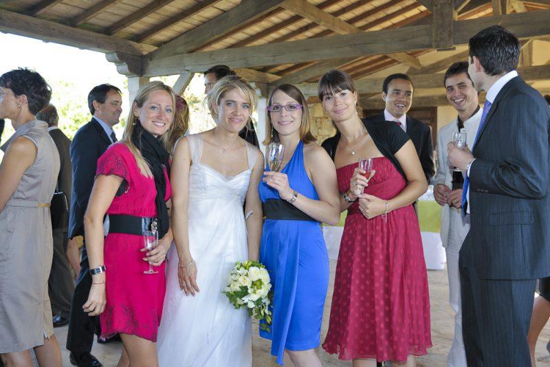 photos mariage cocktail vin d'honneur