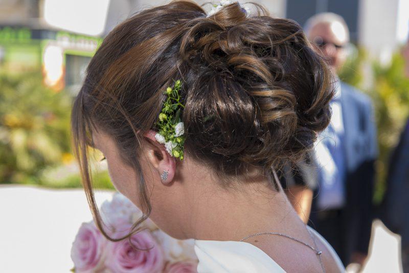 reportage mariage coiffure
